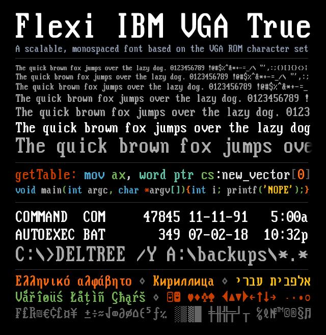 FlexiIBMVGA_v2_specimen_e.png