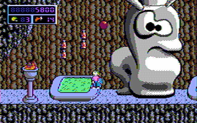 Commander Keen 4 in 16 composite CGA colors (III)
