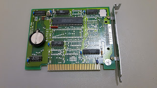 Real-time clock card
