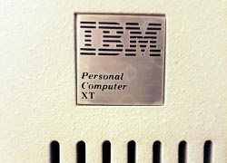 IBM XT badge